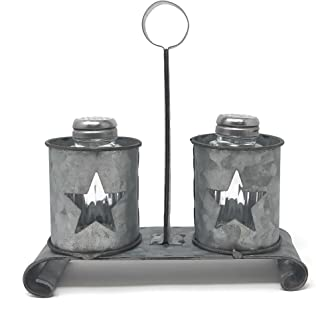 Best vintage cast iron salt and pepper shakers Reviews