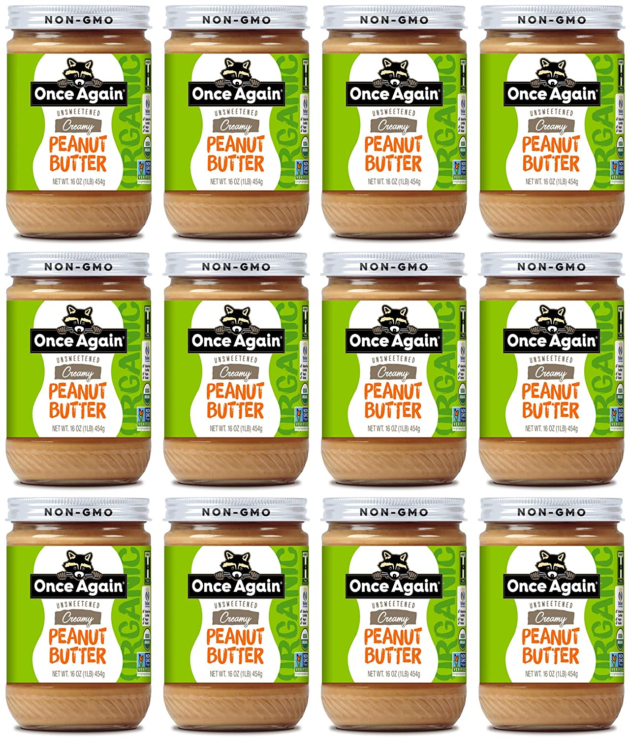 Once Again Organic Some reservation Creamy Peanut - Salted 16oz Lightly Butter Sale SALE% OFF