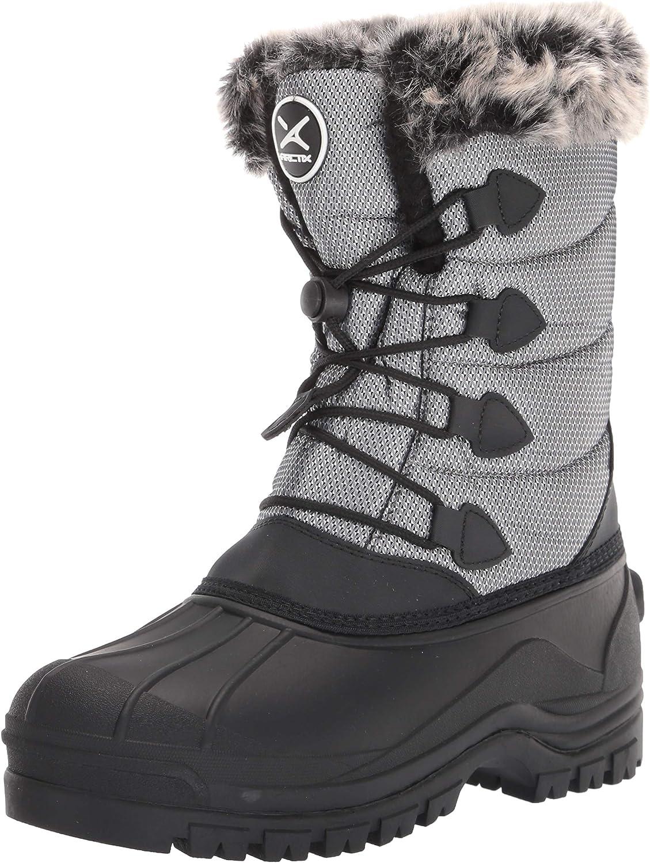 Arctix Women's Below Zero Winter Boot, Steel, 5 Women