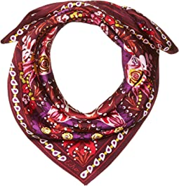 Bouquet Paisley Silk Square Scarf