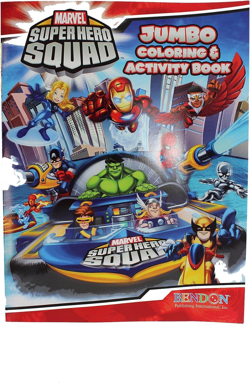 Marvel Superhero Squad  Jumbo Färben & Aktivität Buch B004FD1ARU | Online-Shop