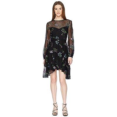 ZAC Zac Posen Jennifer Dress (Black Multi) Women