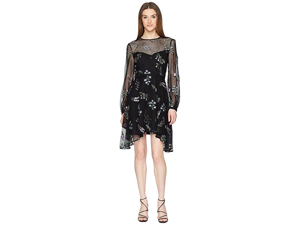 ZAC Zac Posen Jennifer Dress (Black Multi) Women