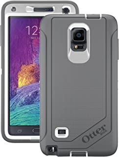 OtterBox Samsung Galaxy Note 4 Case Defender Series - Retail Packaging - Glacier (White/Gunmetal Grey)