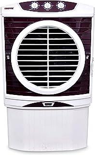 Geepas Air Cooler, White/Brown, GAC9603