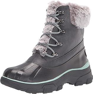 JBU by Jambu Women's Winter Boot Snow, Grey, 7