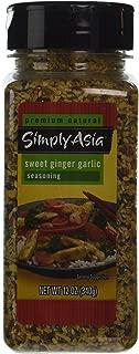 Simply Asia SWEET GINGER GARLIC Seasoning 12oz. (2 Pack)