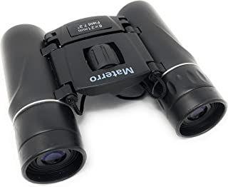 """Materro High-Powered 8"""" x 21"""" Compact Binoculars for Adults and Kids, Waterproof, Durable, Folds to Fit in Your Pocket"""