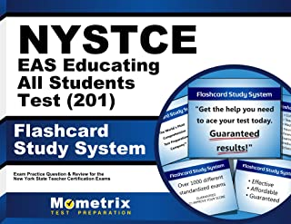 NYSTCE EAS Educating All Students Test (201) Flashcard Study System: NYSTCE Exam Practice Questions & Review for the New York State Teacher Certification Examinations (Cards)