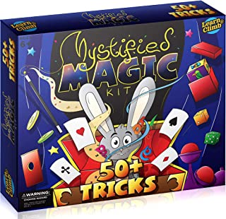 Learn & Climb Magic Kit for Kids - Perform Over 50 Magic Set Tricks