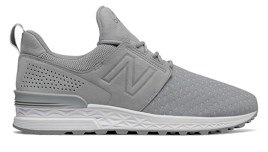 降伏気づかないうまれた(ニューバランス) New Balance 靴?シューズ レディースライフスタイル 574 Sport Decon Silver Mink シルバー ミンク US 6 (23cm)