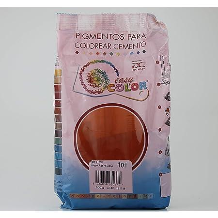 Easy Color pigmento Rojo 101. Pigmento para cemento, mortero y hormigón