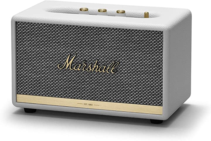 Altoparlante bluetooth marshall acton ii , bianco MRL1001901