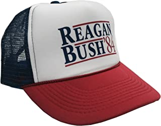 P&B Reagan Bush '84 Campaign Adjustable Unisex Adult-one Size Hat Cap