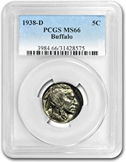 1938 d buffalo nickel ms66