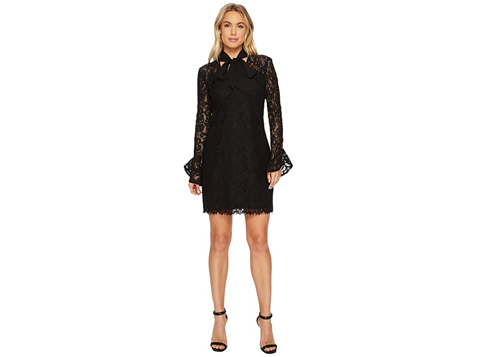 Adelyn Rae Colleen Sheath Dress (Black) Women