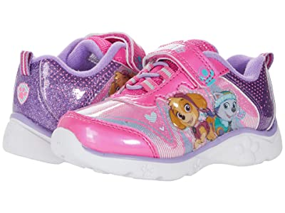 Josmo Kids Paw Patrol Lighted Sneaker (Toddler/Little Kid) (Purple/Pink) Girl