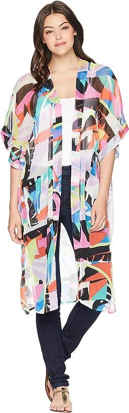 Betsey Johnson Miami Tropic Kimono