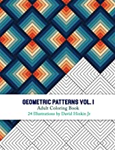Geometric Patterns - Adult Coloring Book Vol. 1 - Inkcartel (Volume 1)