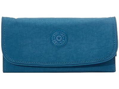 Kipling Money Land RFID Wallet (Mystic Blue) Handbags