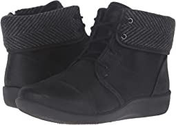 Black Synthetic Nubuck