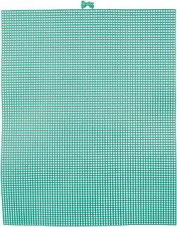 Darice Bulk Buy DIY #7 Mesh Plastic Canvas Christmas Green 10.5 x 13.5 (12-Pack) 33900-11