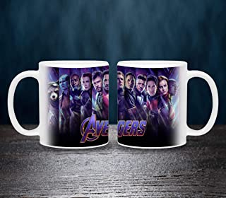 Kids Avengers Characters Printed white Mug- 11oz White Ceramic Coffee Mug