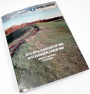 Polaris 2013-2014 Ranger Xp Crew 900 Service Shop Repair Manual 9924880 New Oem