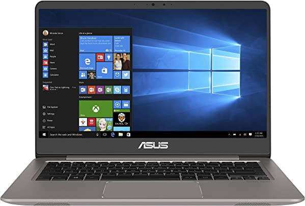 Asus Zenbook UX3410UA-GV133T 35 56 cm 14 Zoll FHD matt Laptop Intel Core i5-7200U 8GB RAM 512GB SSD Intel HD Graphics Win 10 grau Schätzpreis : 1.399,95 €