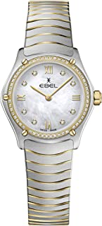 EBEL Ladies 1216412A Sport Classic 18K Gold & Steel Swiss Quartz Watch