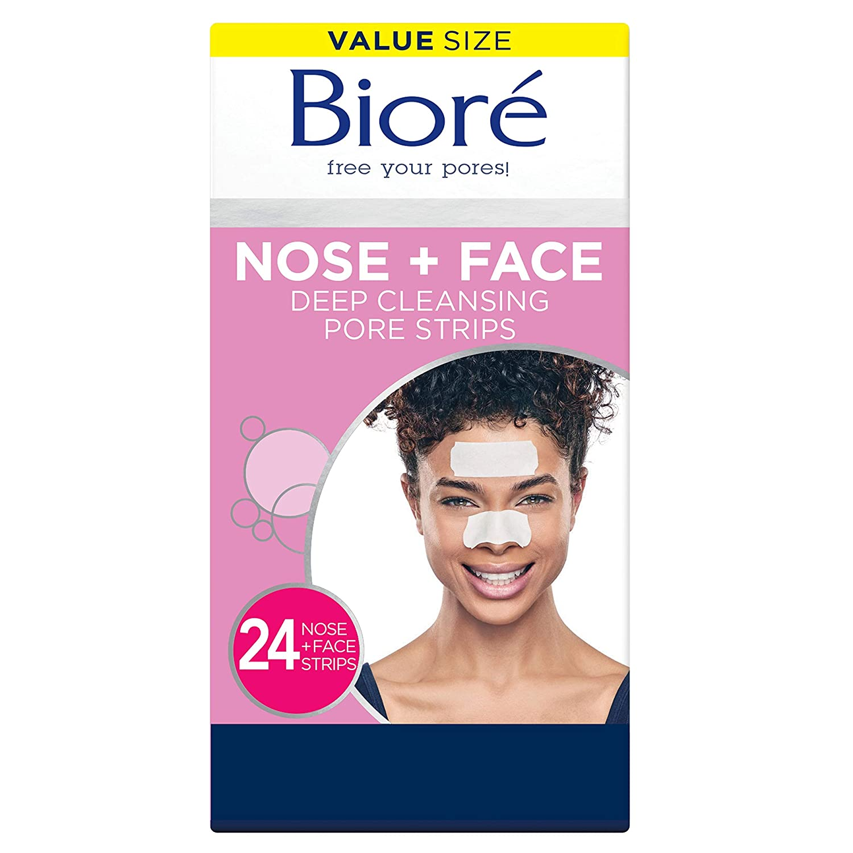 Bioré Nose+Face Blackhead Remover Pore Strips