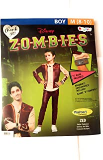 Wal Mart Zombies ZED Boys Costume Medium 8-10