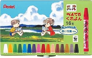 Pentel Crayons 16-set