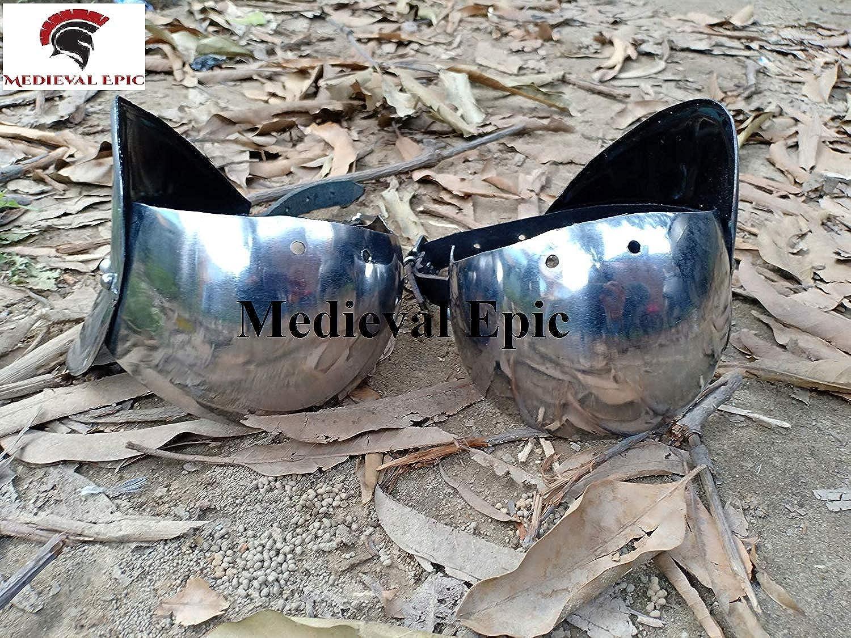 grandes ahorros Disfraz Disfraz Disfraz de Armadura de Acero Epic Medieval polin Armor  respuestas rápidas