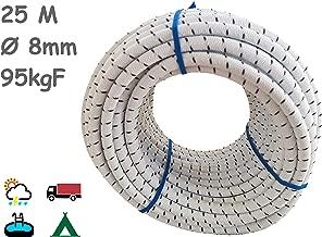 /8/mm corda elastica in gomma corda in verde 6/mm/ moschettone Guinzaglio Corda Corda Plane