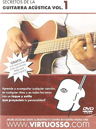 virtuosso Acoustic Guitar Method Vol. 1 (curso de guitarra acústica Vol. 1)