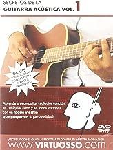 Virtuosso Acoustic Guitar Method Vol.1 (Curso De Guitarra Acústica Vol.1) SPANISH ONLY