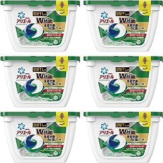 ARIEL 洗衣液 living dry 凝胶球 3D18个×6件(整箱售卖)