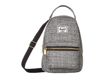 Herschel Supply Co. Nova Crossbody (Raven Crosshatch) Handbags
