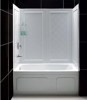 Dreamline Qwall-tub White Tub Surround