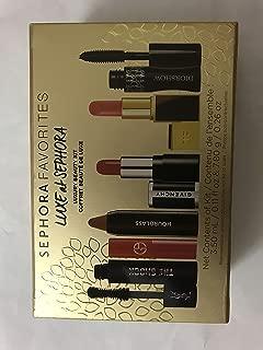 SEPHORA FAVORITES Luxury Beauty Kit: Diorshow Mascara, Lip Maestro, Le Rouge, HOURGLASS Lip Stylo, TOM FORD Lip Color in 09, The Shock Volumizing Mascara