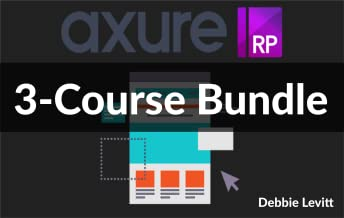 3-Course Bundle - Interactive Prototyping With Axure RP 8 (Online Video Course) [Online Code]