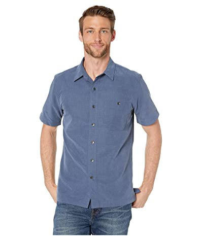 Royal Robbins Mojave Desert Pucker S/S (Collins Blue 2) Men