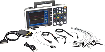 Owon MSO8202T Series MSO Mixed Signal Oscilloscope with 16-Channel Logic Analyzer, 2 Channels, 200 MHz, 2GS/s Sample Rate