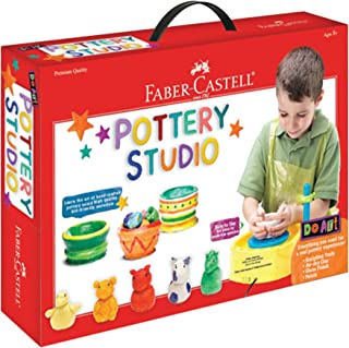 Faber-Castell Do Art Pottery Studio, Pottery Wheel Kit for K
