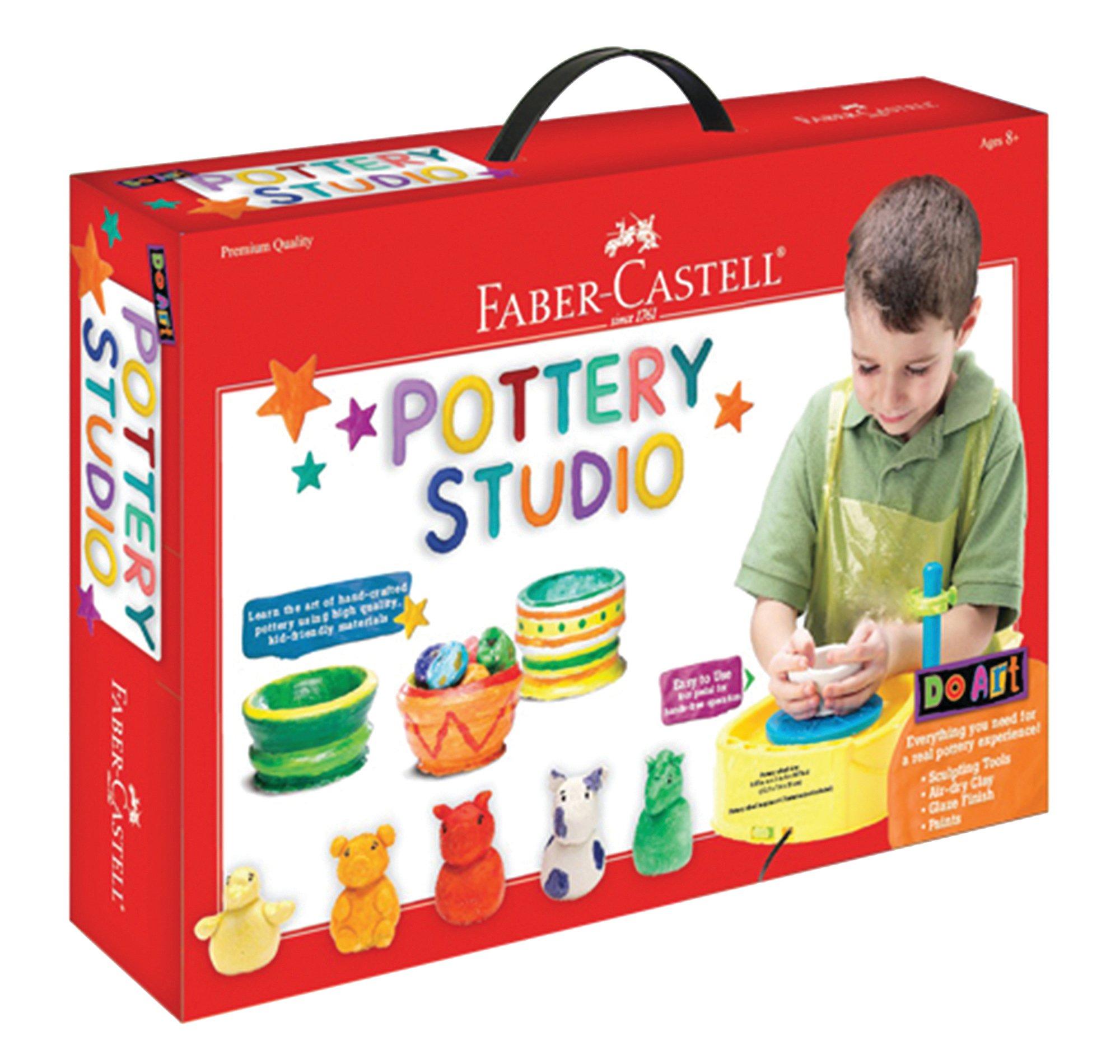 Faber Castell Pottery Studio Wheel Kids