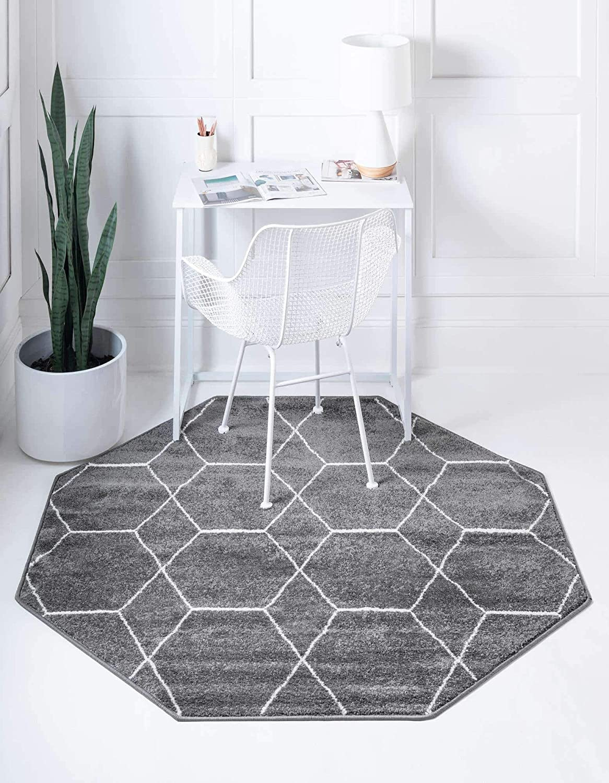 Unique Loom Trellis Frieze Moroccan 輸入 Lattice Collection [正規販売店] Geometric
