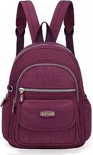 Mini Nylon Women Backpacks Casual Lightweight Small Daypack for Girls