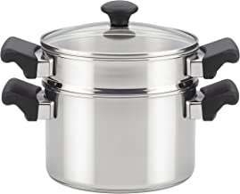 Farberware 70219 Classic Stainless Steel Saucepot Steamer Insert and Lid - 3 Quart, Silver