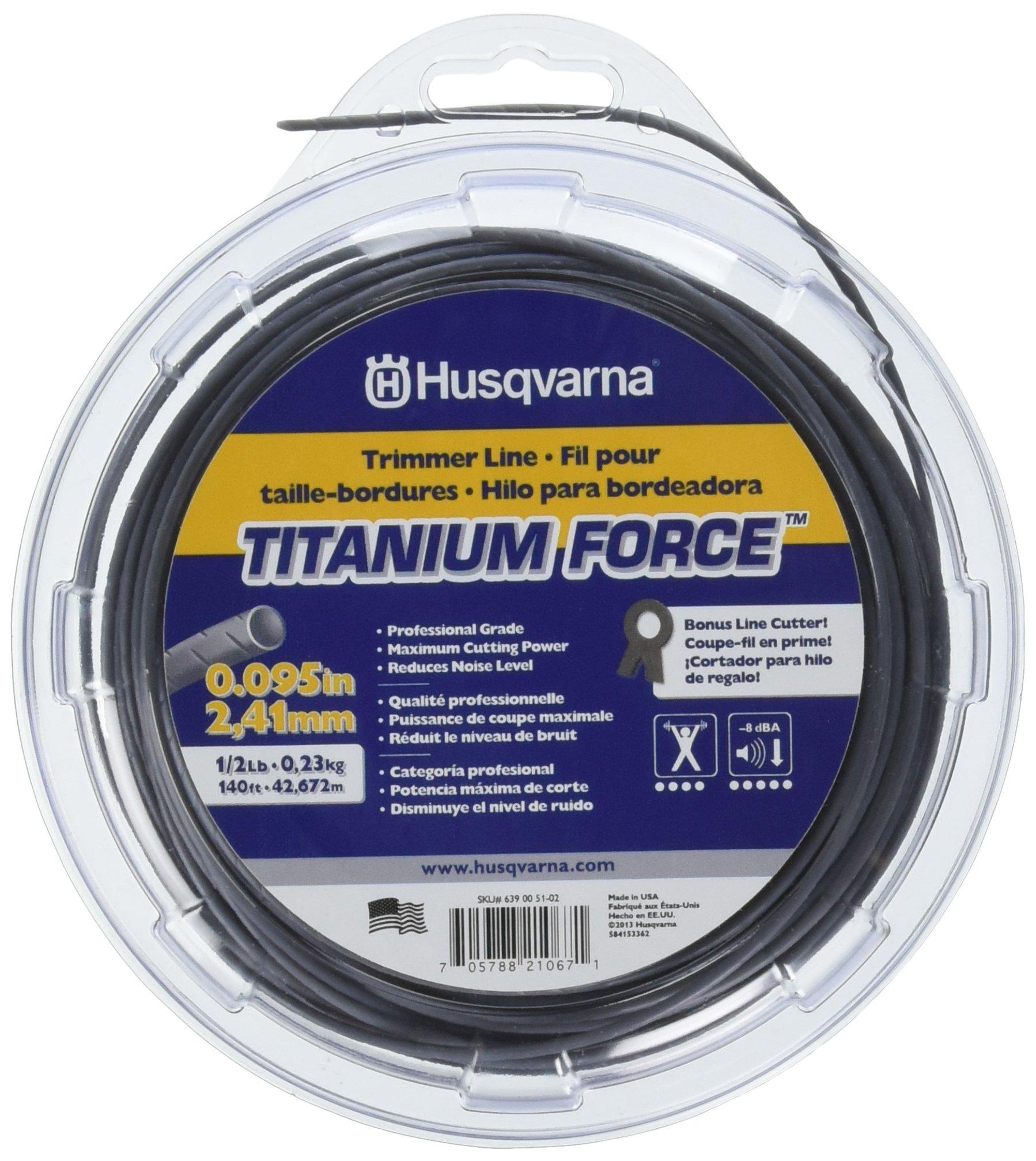 Husqvarna 639005102 Titanium Trimmer 095 Inch